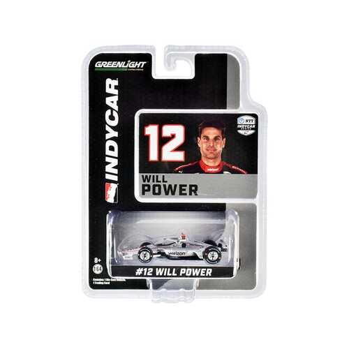 """Dallara IndyCar #12 Will Power """"Verizon"""" Team Penske """"NTT IndyCar Series"""" (2020) 1/64 Diecast Model Car by Greenlight"""