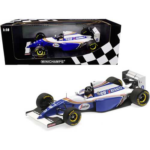 Williams Renault FW16 #0 Damon Hill 2nd Place Formula One Brazilian Grand Prix (1994) Limited Edition to 204 pieces Worldwide 1/18 Diecast Model Car by Minichamps