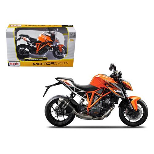 KTM 1290 Super Duke R Orange Motorcycle Model 1/12 by Maisto