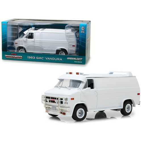 1983 GMC Vandura Custom White 1/18 Diecast Model Car by Greenlight