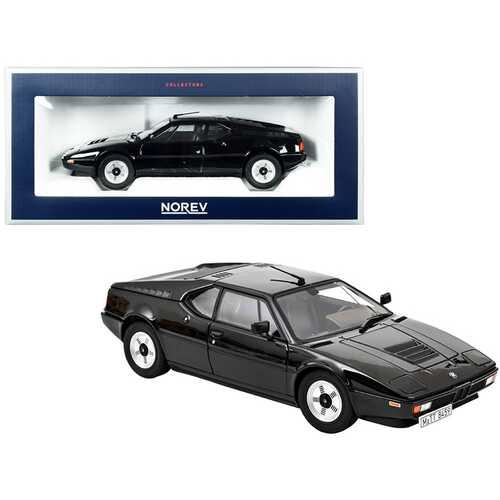 1980 BMW M1 Black 1/18 Diecast Model Car by Norev