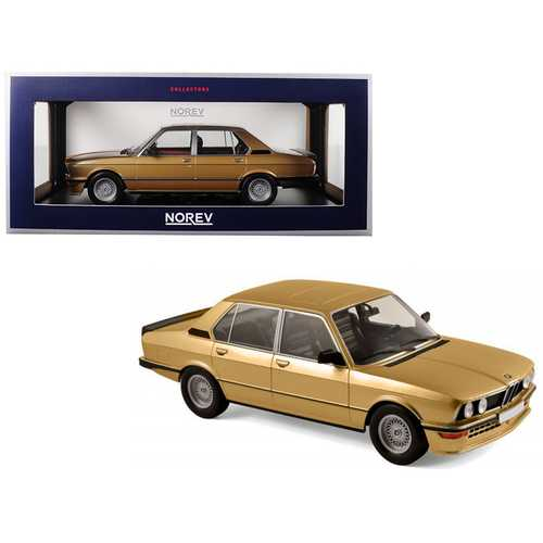 1980 BMW M535i Metallic Gold 1/18 Diecast Model Car by Norev