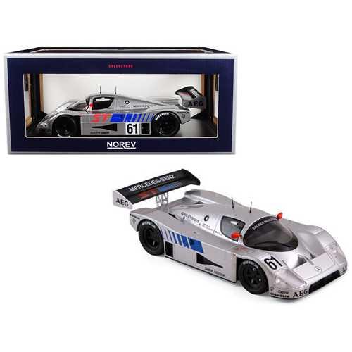 Sauber Mercedes Winner 400 km Suzuka 1989 Baldi/Schlesser Limited Edition to 1000 pieces Worldwide 1/18 Diecast Model Car by Norev