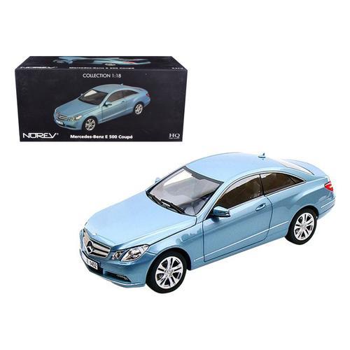 2009 Mercedes E500 E Class Blue 1/18 Diecast Car Model by Norev