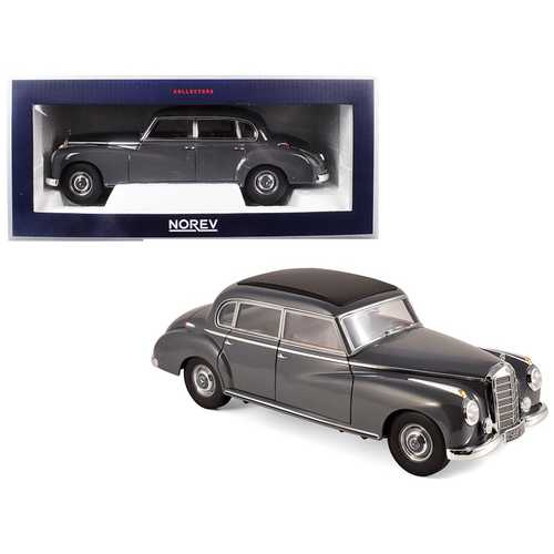 1955 Mercedes Benz 300 Dark Gray 1/18 Diecast Model Car by Norev