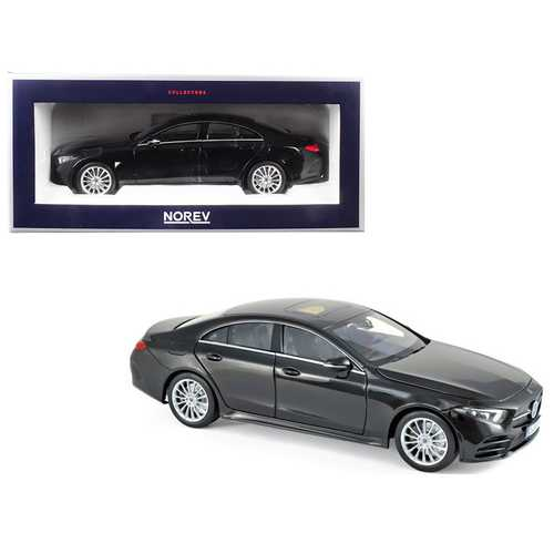 2018 Mercedes CLS Class Black 1/18 Diecast Model Car by Norev