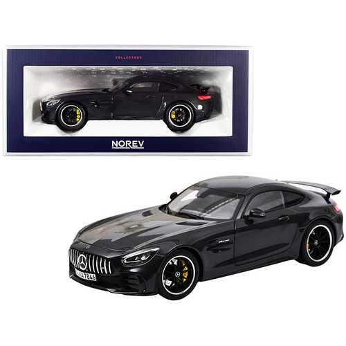 2019 Mercedes-AMG GT R Dark Gray Metallic 1/18 Diecast Model Car by Norev