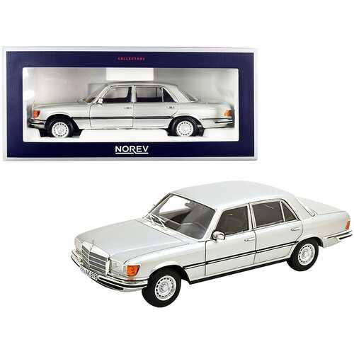 1976 Mercedes Benz 450 SEL 6.9 Silver Metallic 1/18 Diecast Model Car by Norev