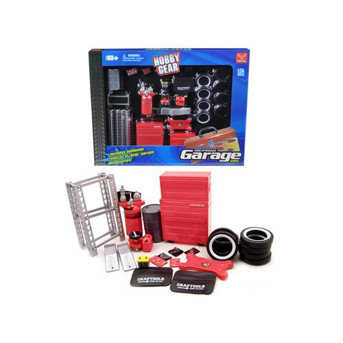 Repair Garage Accessories Tool Set for 1/24 Scale Models by Phoenix Toys