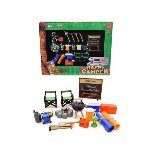 """Happy Camper"" Accessories Set for 1/24 Scale Models by Phoenix Toys"