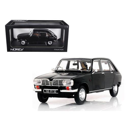 1967 Renault 16 Black 1/18 Diecast Car Model by Norev