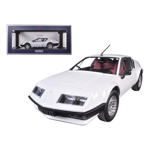 1981 Renault Alpine A310 White 1/18 Diecast Model Car by Norev
