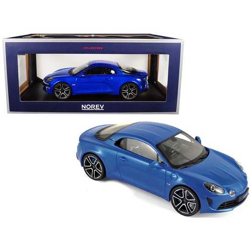2017 Renault A110 Alpine Blue 1/18 Diecast Model Car by Norev