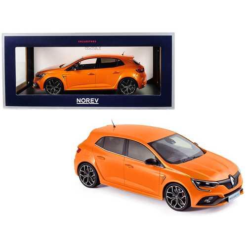 2017 Renault Megane R.S. Tonic Orange 1/18 Diecast Model Car by Norev