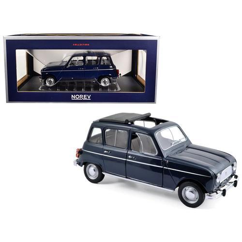 1965 Renault 4 Copenhague Blue 1/18 Diecast Model Car by Norev