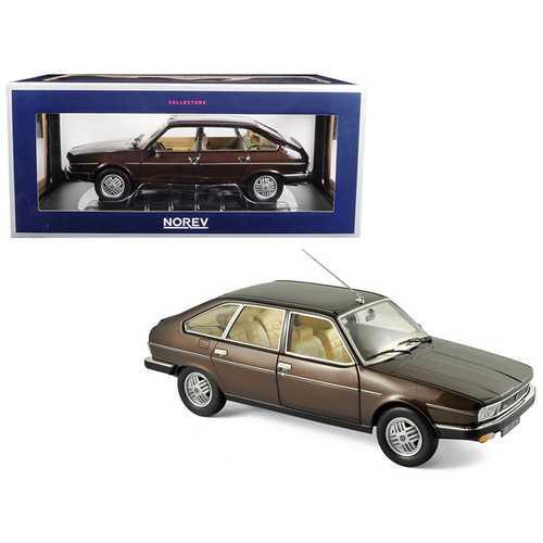 1981 Renault 30 TX Bronze Brown 1/18 Diecast Model Car by Norev