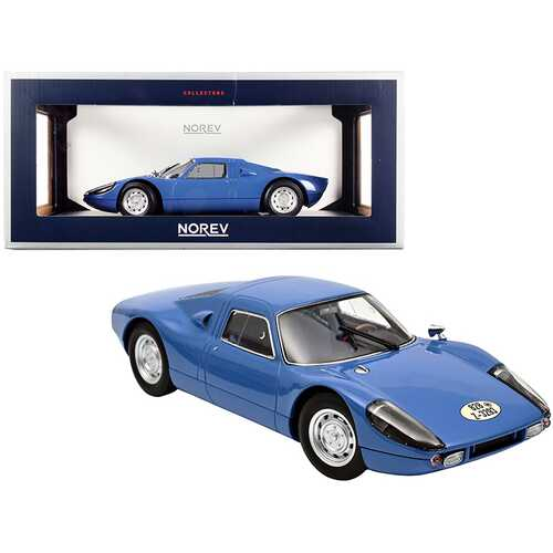 1964 Porsche Carrera 904 GTS Blue 1/18 Diecast Model Car by Norev