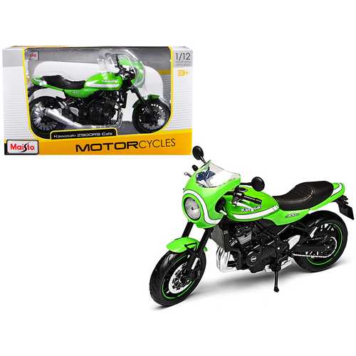 Kawasaki Z900RS Cafe Green 1/12 Diecast Motorcycle Model by Maisto
