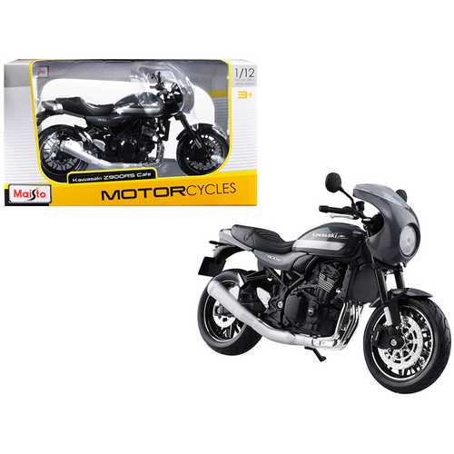 Kawasaki Z900RS Cafe Gray 1/12 Diecast Motorcycle Model by Maisto