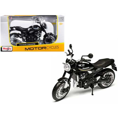 Kawasaki Z900RS Black 1/12 Diecast Motorcycle Model by Maisto