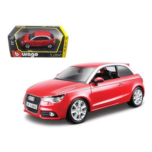 Audi A1 Red 1/24 Diecast Car Model by Bburago