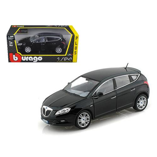 Lancia New Delta HPE Black 1/24 Diecast Car Model by Bburago