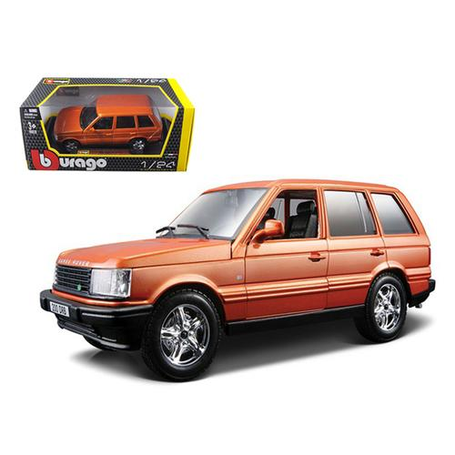 Land Rover Range Rover Orange 1/24 Diecast Car Model by Bburago