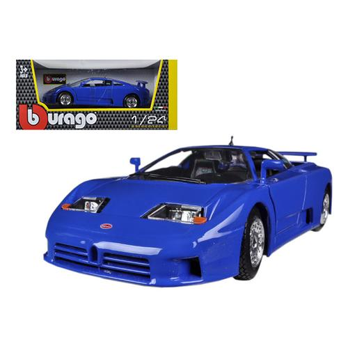 Bugatti EB 110 Blue 1/24 Diecast Car Model by Bburago