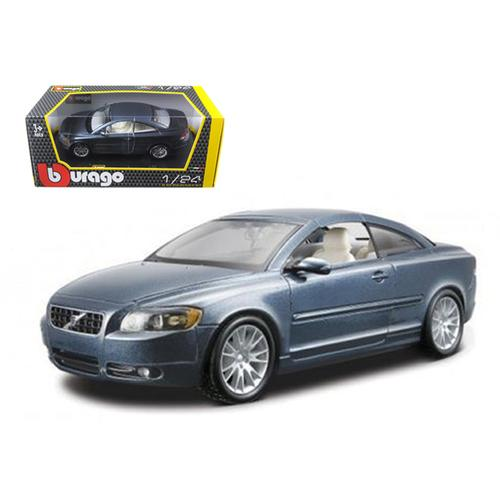 Volvo C70 Coupe Blue 1/24 Diecast Car Model by Bburago