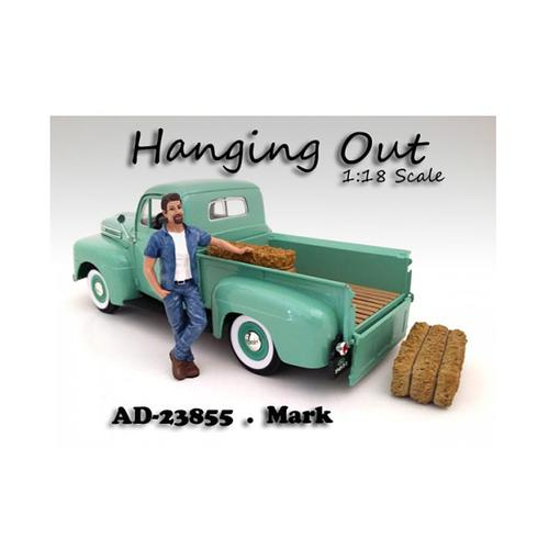 """Hanging Out"" Mark Figurine for 1/18 Scale Models by American Diorama"
