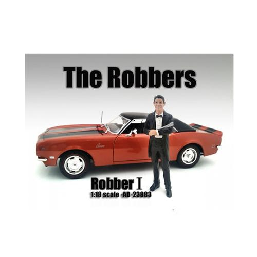 """""""The Robbers"""" Robber I Figure For 1:18 Scale Models by American Diorama"""