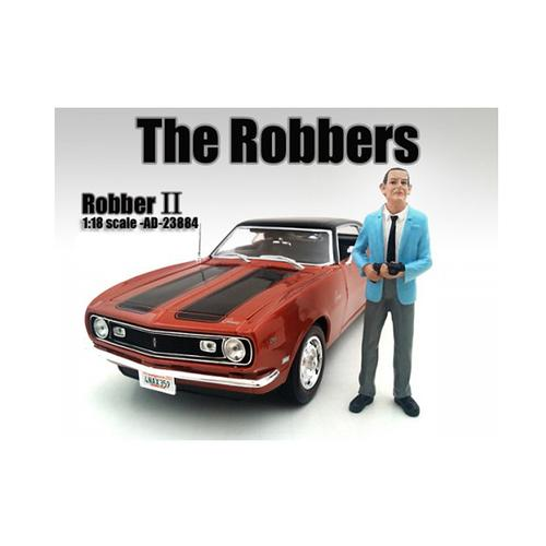 """The Robbers"" Robber II Figure For 1:18 Scale Models by American Diorama"