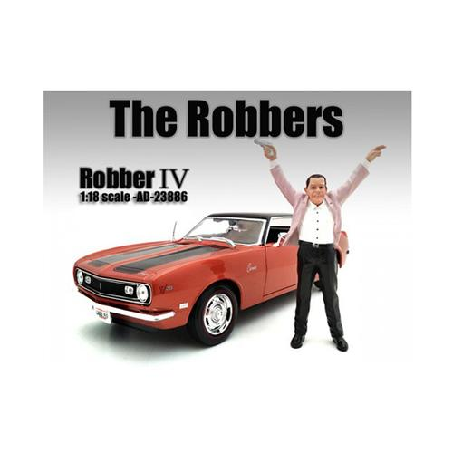 """""""The Robbers"""" Robber IV Figure For 1:18 Scale Models by American Diorama"""