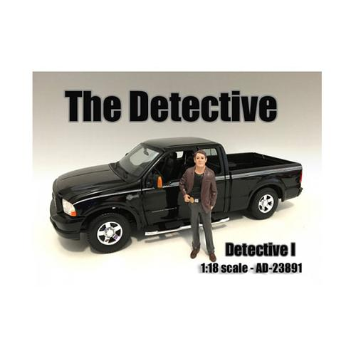 """""""The Detective #1"""" Figure For 1:18 Scale Models by American Diorama"""