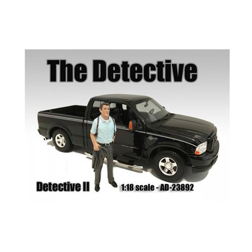 """""""The Detective #2"""" Figure For 1:18 Scale Models by American Diorama"""