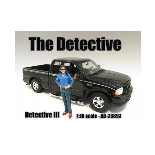 """""""The Detective #3"""" Figure For 1:18 Scale Models by American Diorama"""