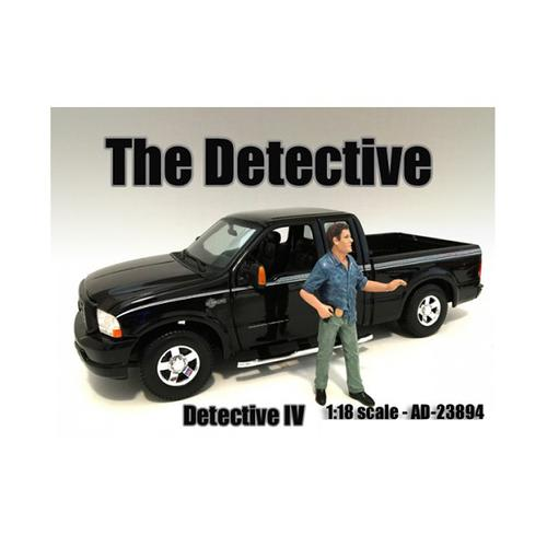 """""""The Detective #4"""" Figure For 1:18 Scale Models by American Diorama"""