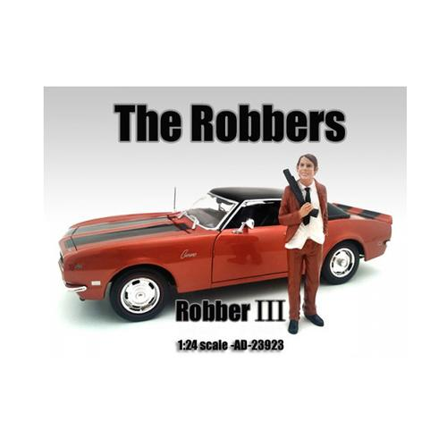 """The Robbers"" Robber III Figure For 1:24 Scale Models by American Diorama"