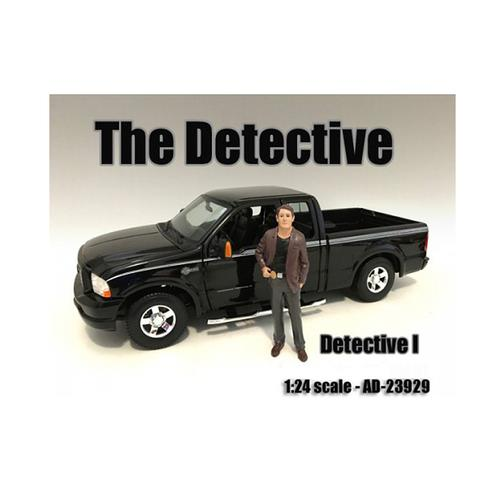 """""""The Detective #1"""" Figure For 1:24 Scale Models by American Diorama"""