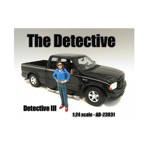 """""""The Detective #3"""" Figure For 1:24 Scale Models by American Diorama"""