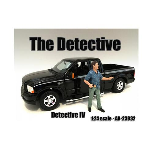 """""""The Detective #4"""" Figure For 1:24 Scale Models by American Diorama"""