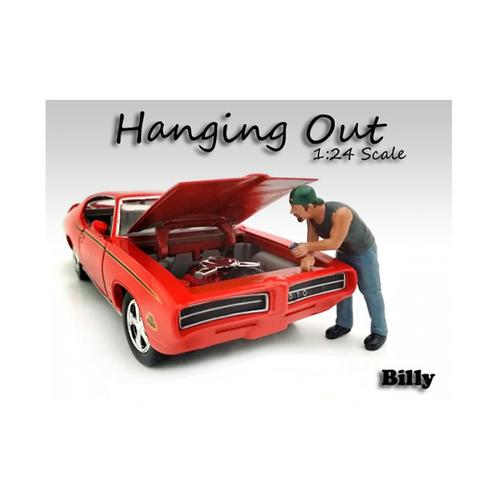 """Hanging Out"" Billy Figure for 1/24 Scale Models by American Diorama"