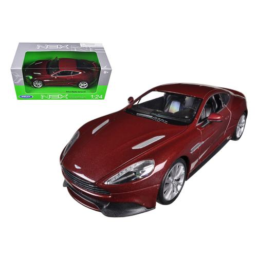 Aston Martin Vanquish Bronze 1/24 Diecast Model Car by Welly