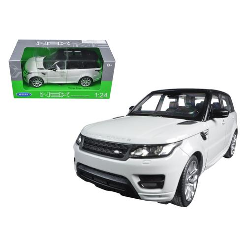 Range Rover Sport White 1/24 Diecast Model Car by Welly