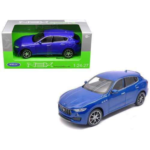 Maserati Levante Blue 1/24 - 1/27 Diecast Model Car by Welly