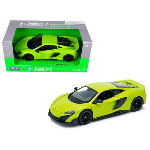 McLaren 675LT Coupe Green 1/24-1/27 Diecast Model Car by Welly