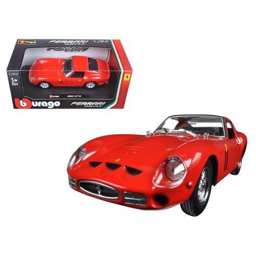 Ferrari 250 GTO Red 1/24 Diecast Model Car by Bburago
