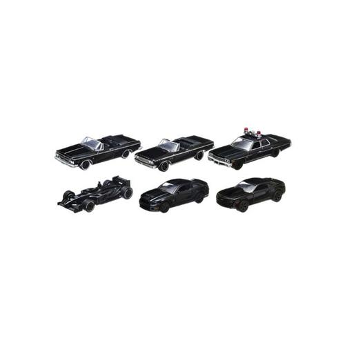 Black Bandit Series 8, 6pc Set 1/64 Diecast Car by Greenlight