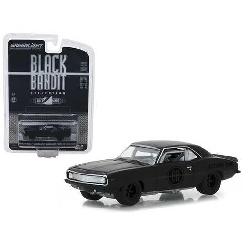 "1969 Chevrolet Camaro Z/28 Black Bandit Trans Am Racing Team ""Black Bandit"" Series 20 1/64 Diecast Model Car by Greenlight"