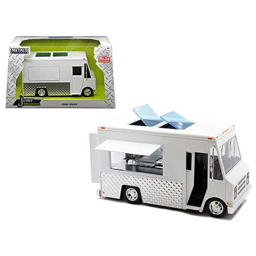 "Food Truck White ""Just Trucks"" Series Diecast Model by Jada"